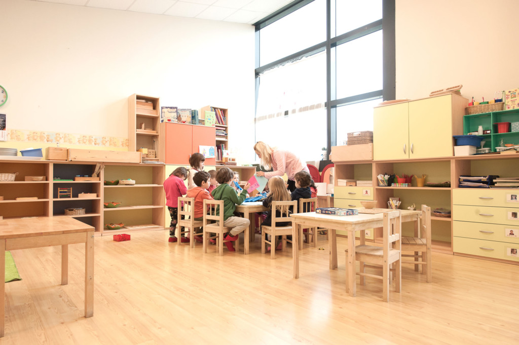 aula centro infanzia 123